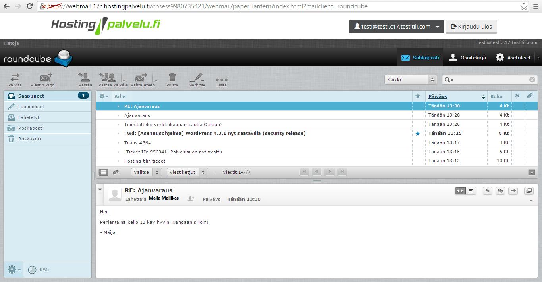 Monipuolinen sähköposti