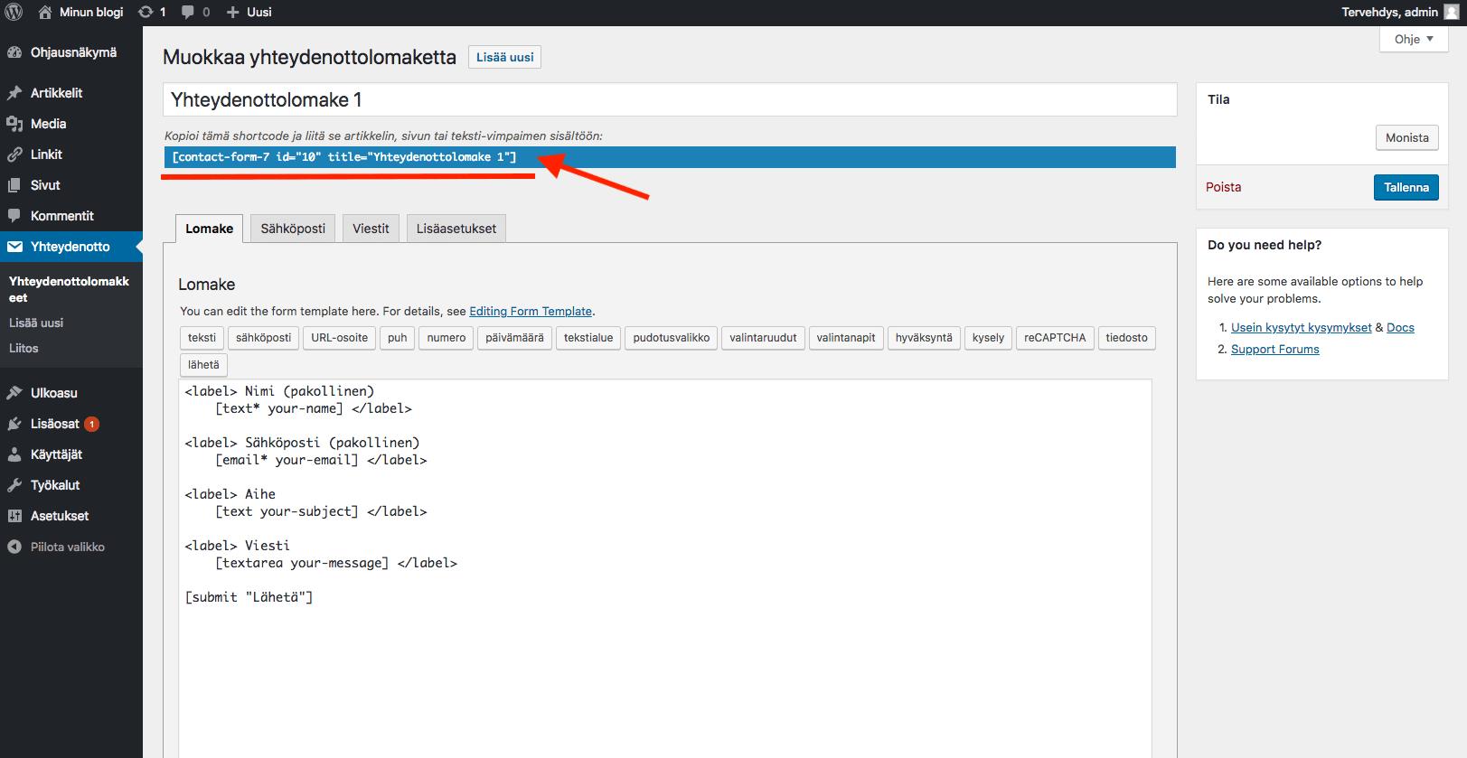 WordPress ohjeet - reCAPTCHA asennus