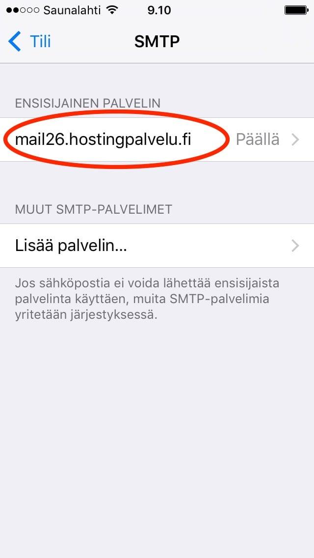 Sähköposti saunalahti